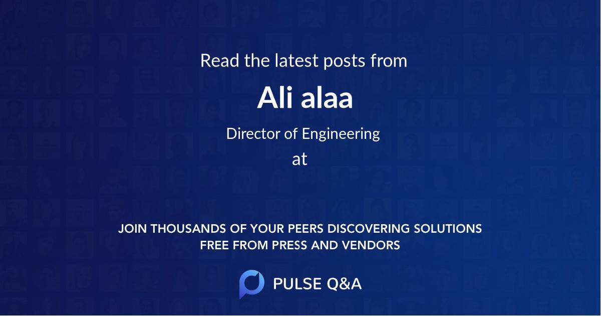 Ali alaa
