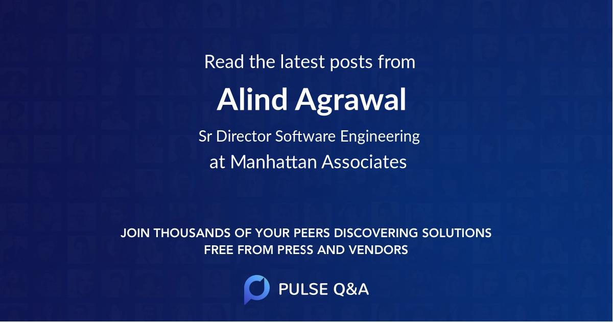 Alind Agrawal