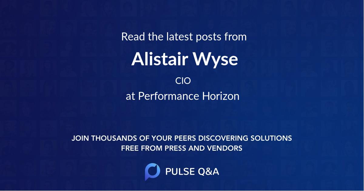 Alistair Wyse