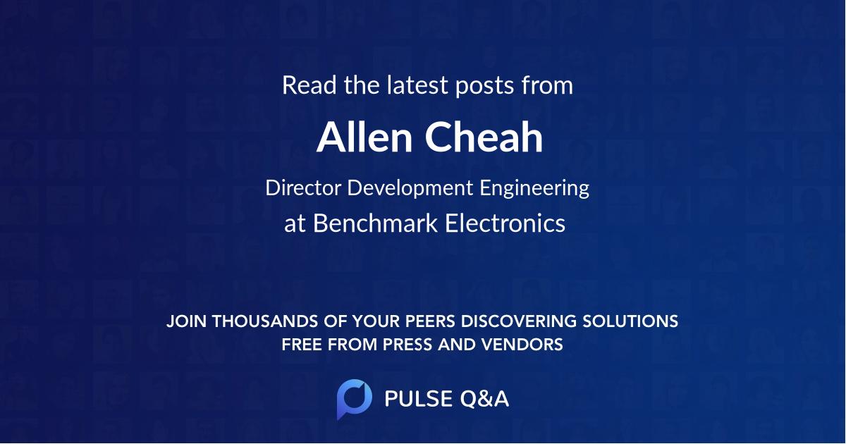 Allen Cheah