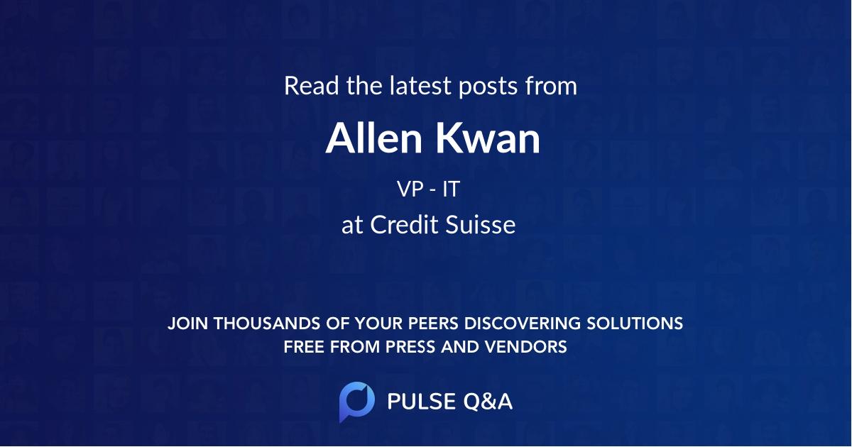 Allen Kwan