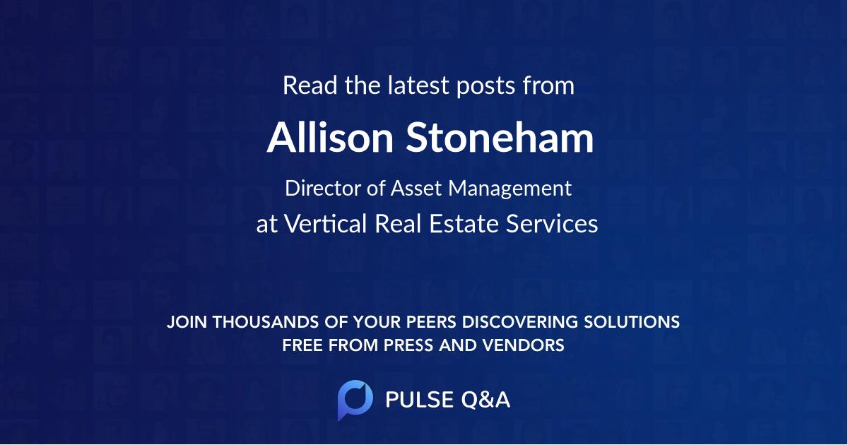 Allison Stoneham