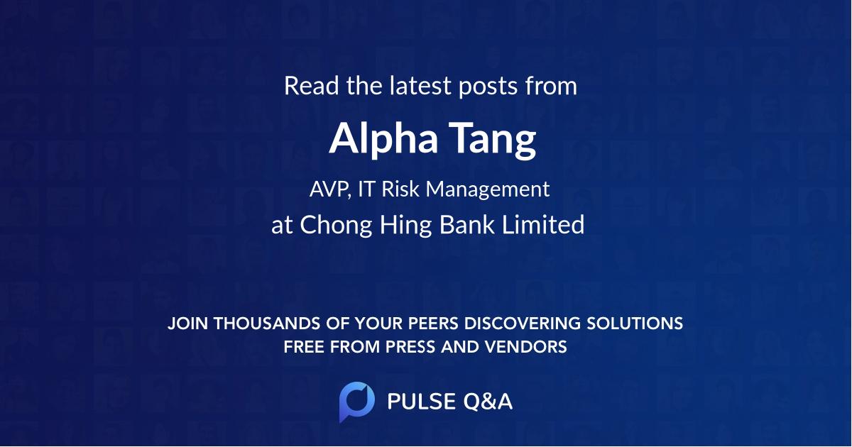 Alpha Tang