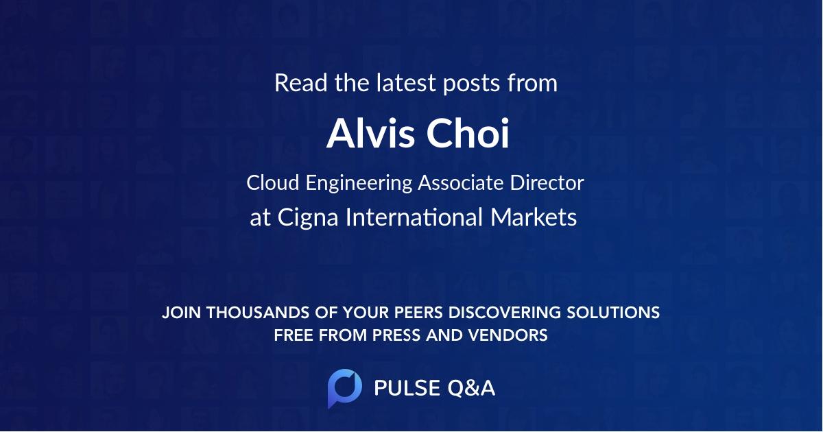 Alvis Choi