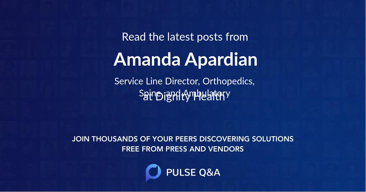 Amanda Apardian
