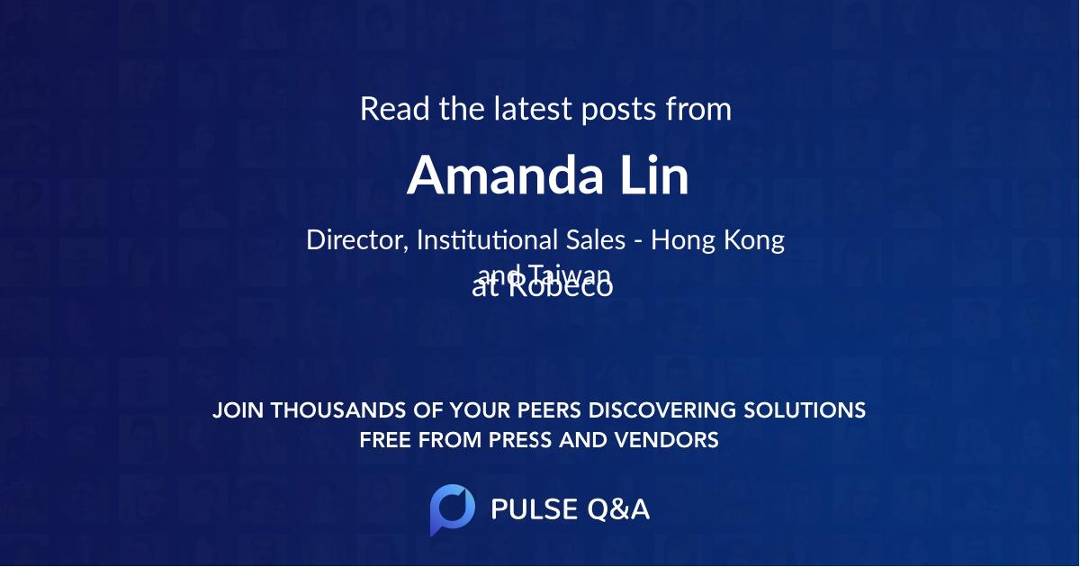 Amanda Lin