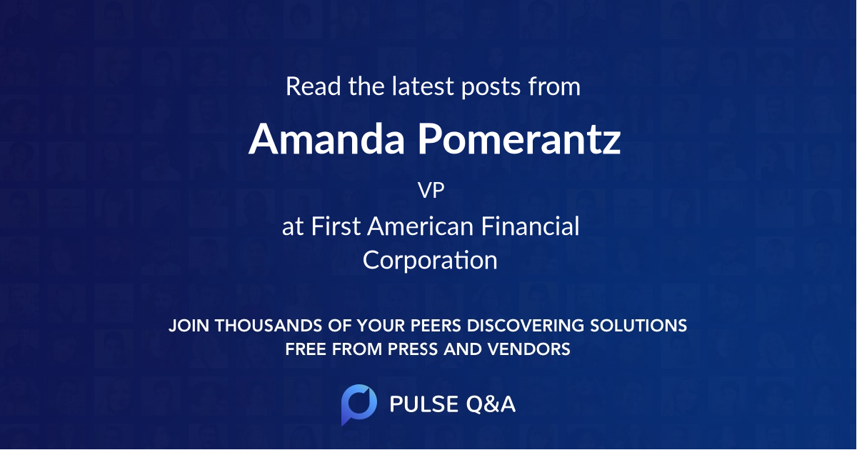 Amanda Pomerantz