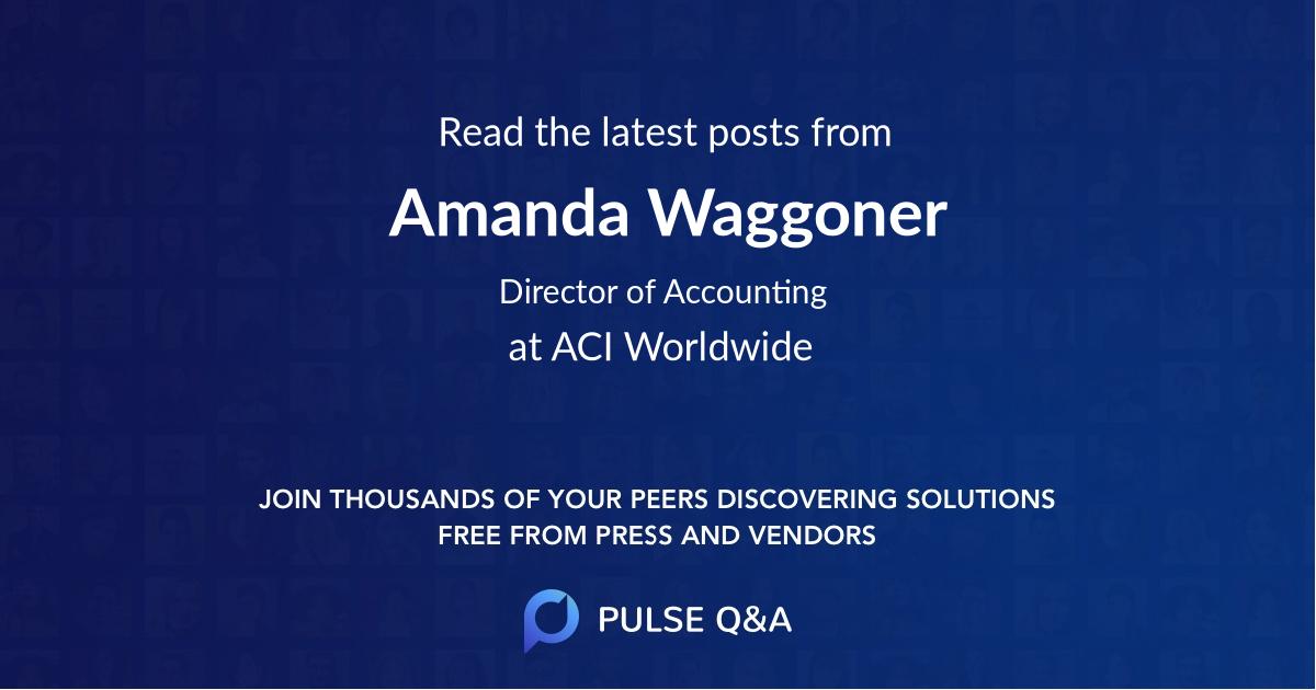 Amanda Waggoner