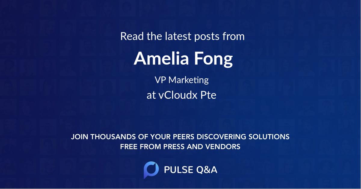 Amelia Fong