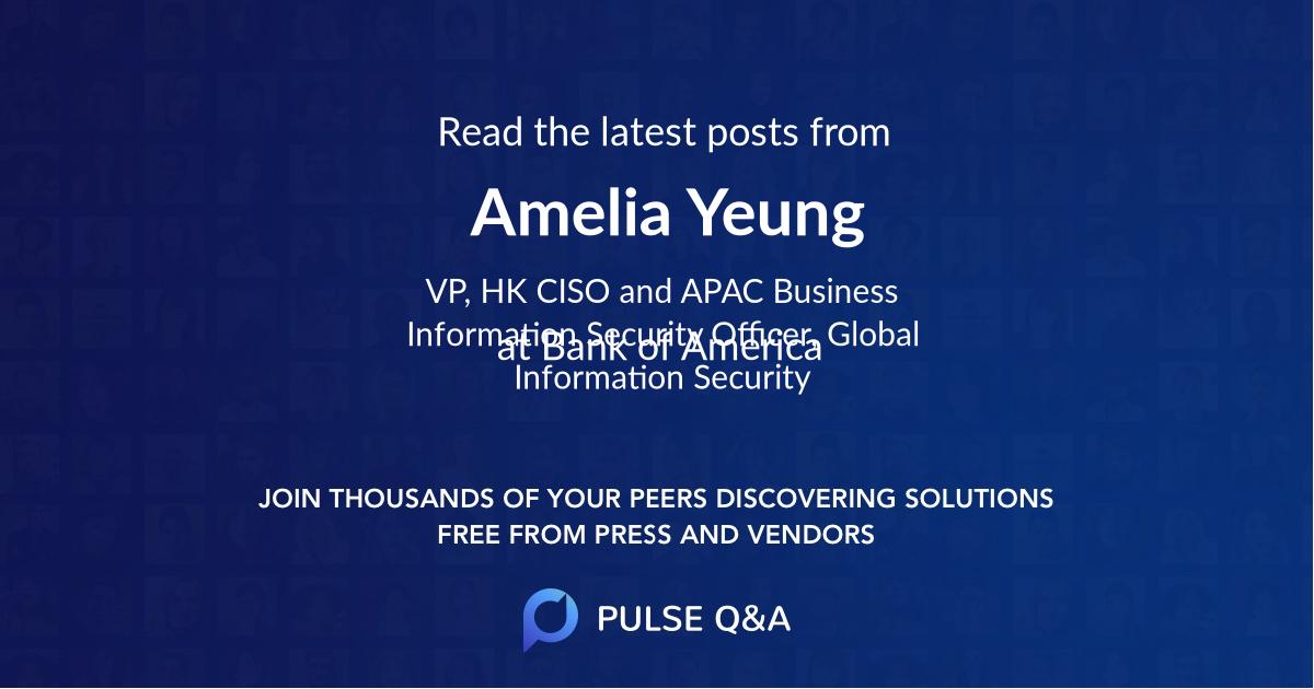 Amelia Yeung