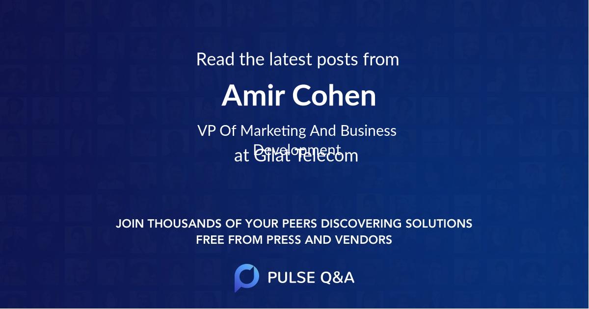Amir Cohen