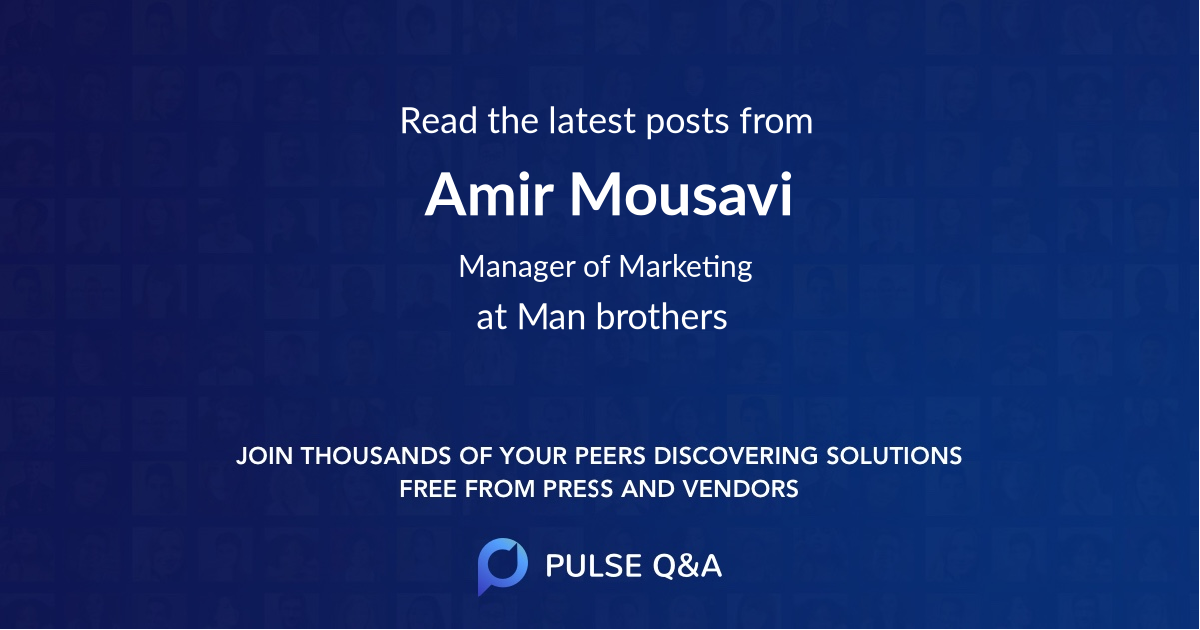 Amir Mousavi
