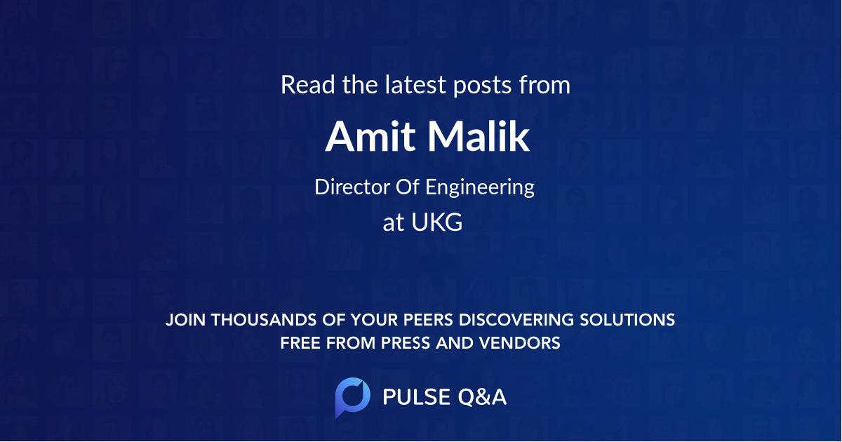Amit Malik
