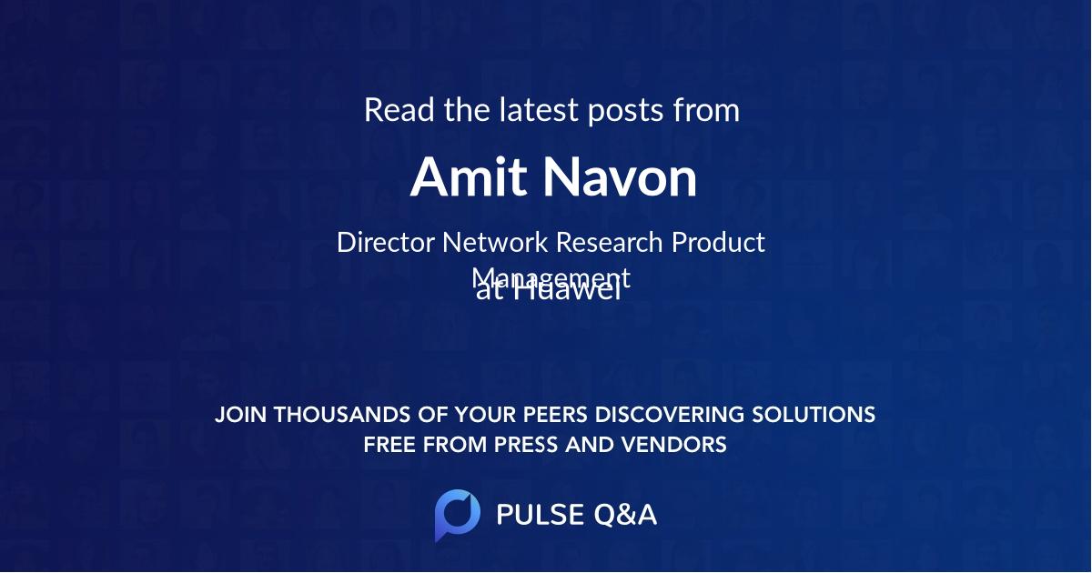 Amit Navon