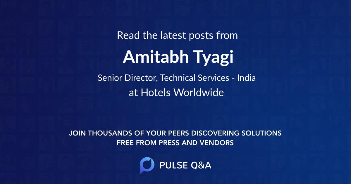 Amitabh Tyagi