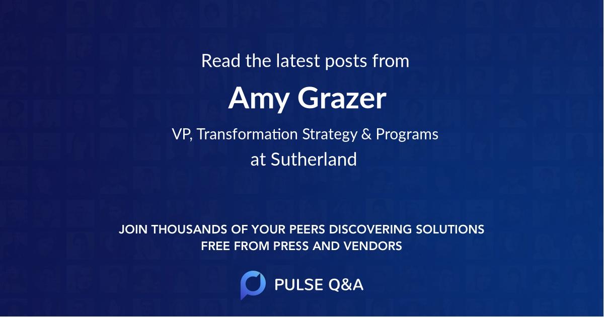 Amy Grazer