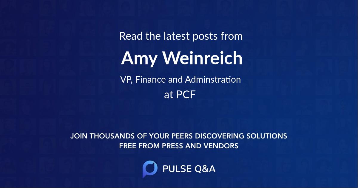 Amy Weinreich