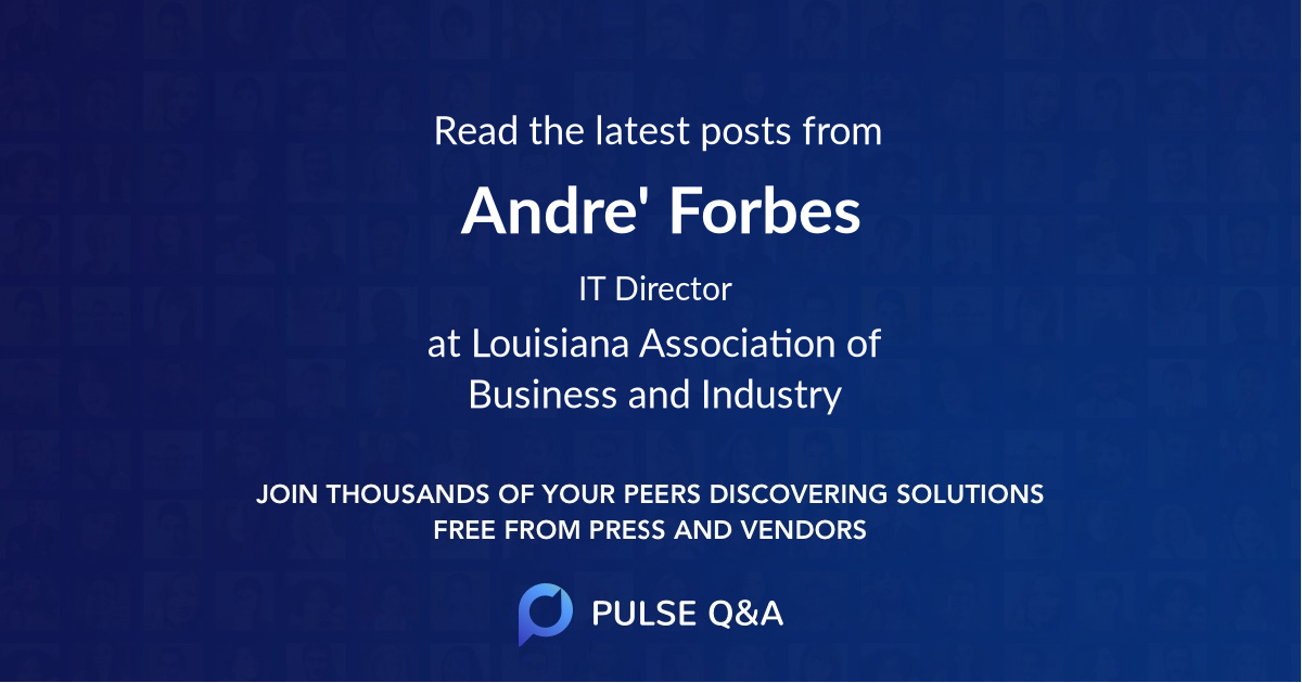 Andre' Forbes
