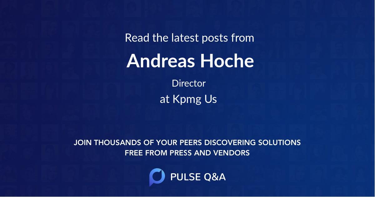 Andreas Hoche