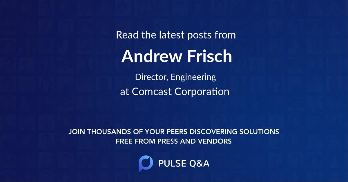 Andrew Frisch