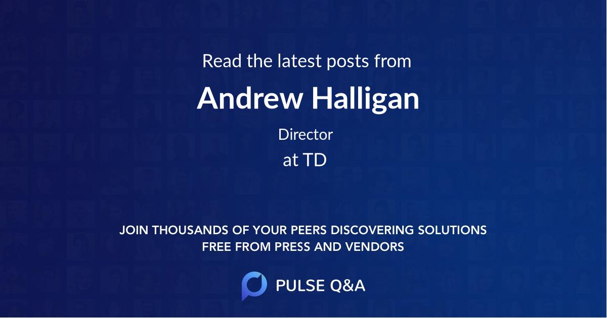 Andrew Halligan
