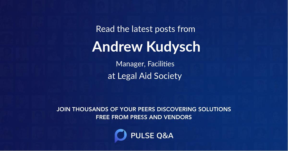 Andrew Kudysch