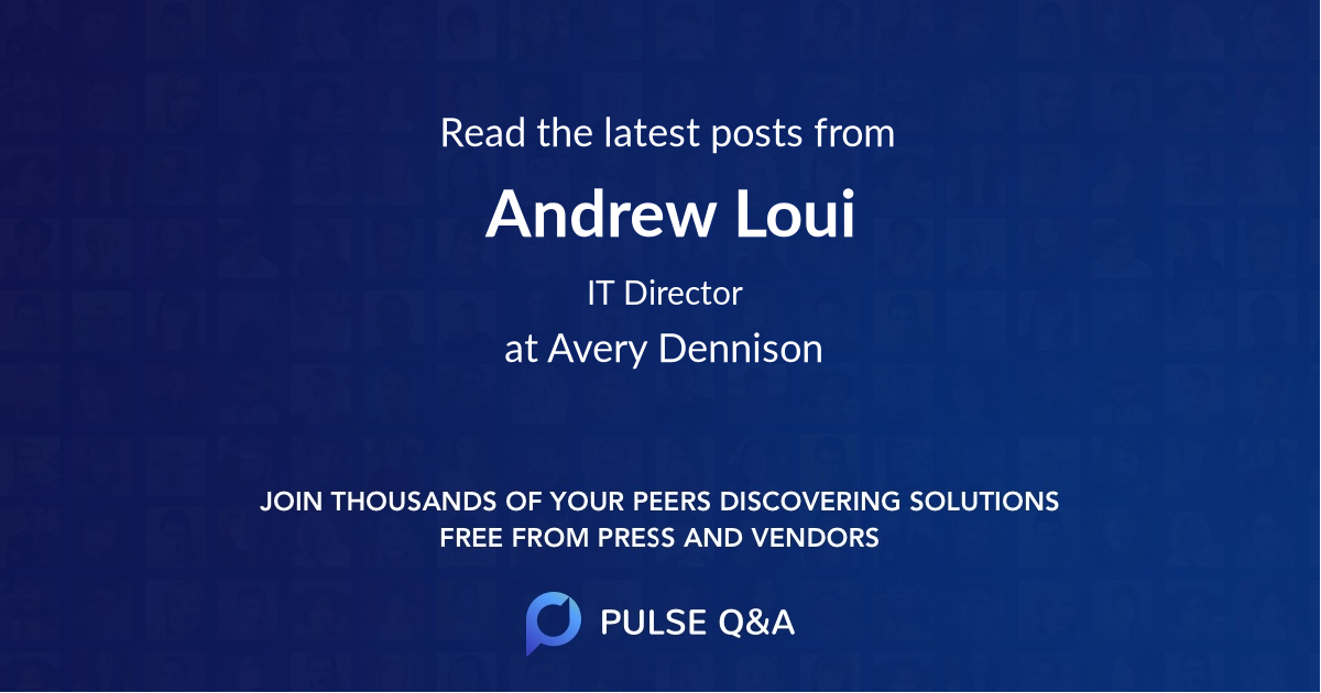 Andrew Loui