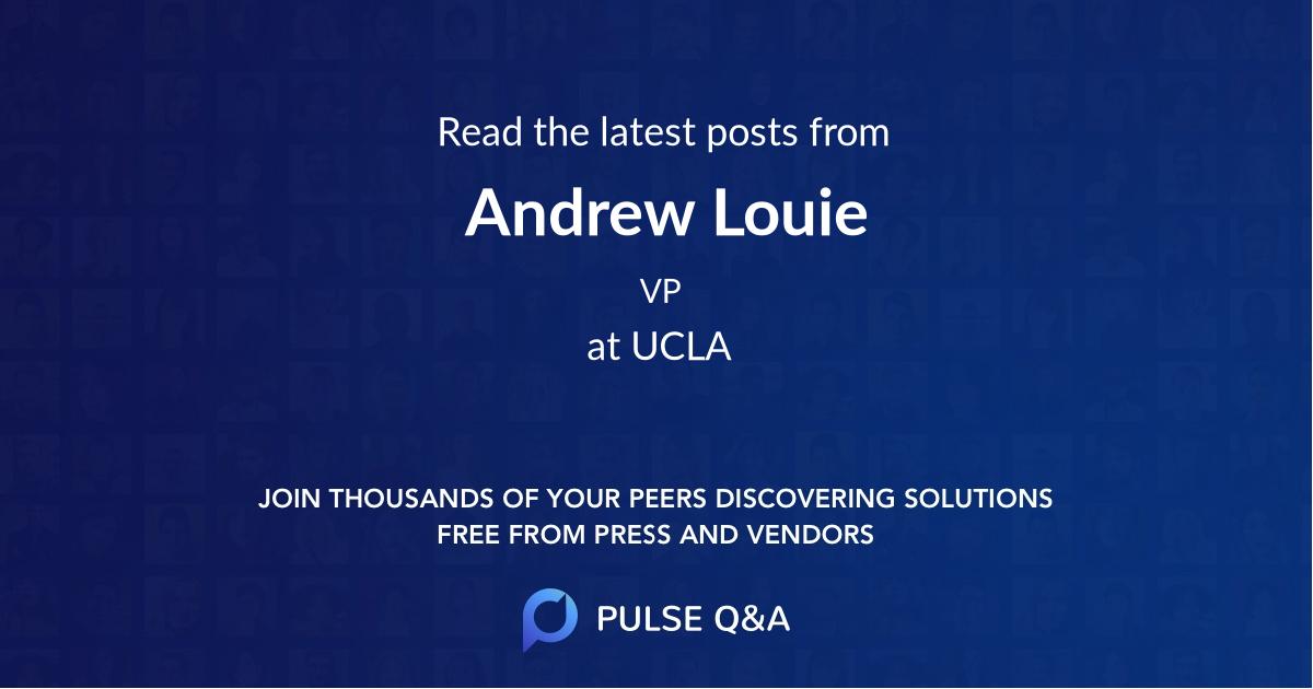Andrew Louie