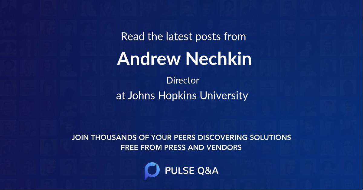 Andrew Nechkin