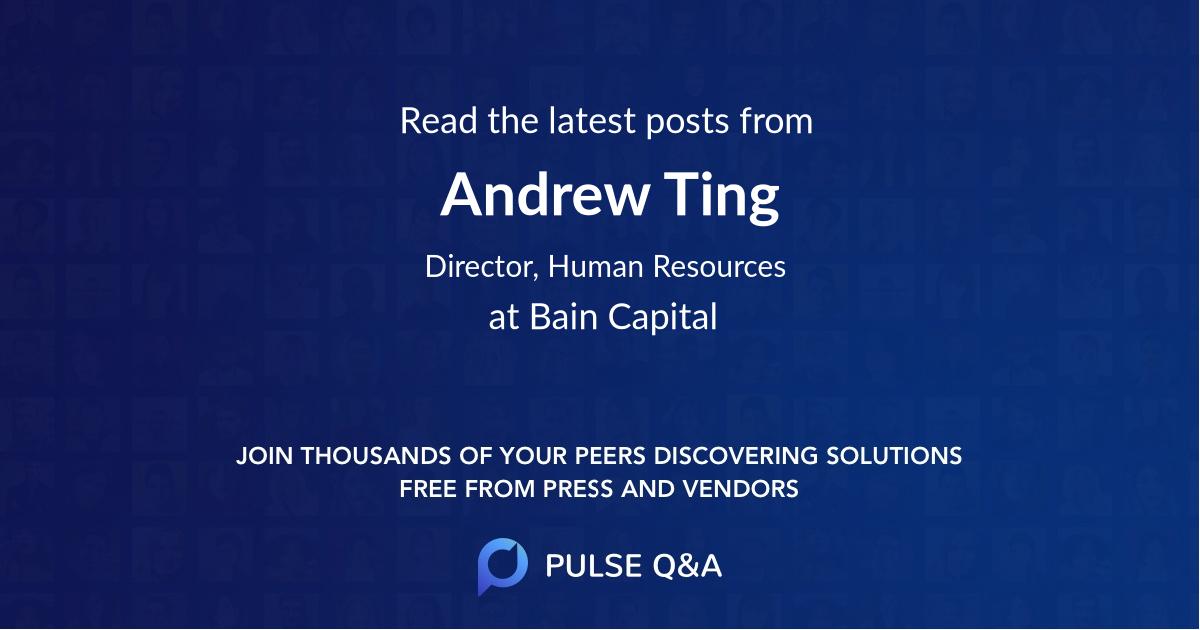 Andrew Ting