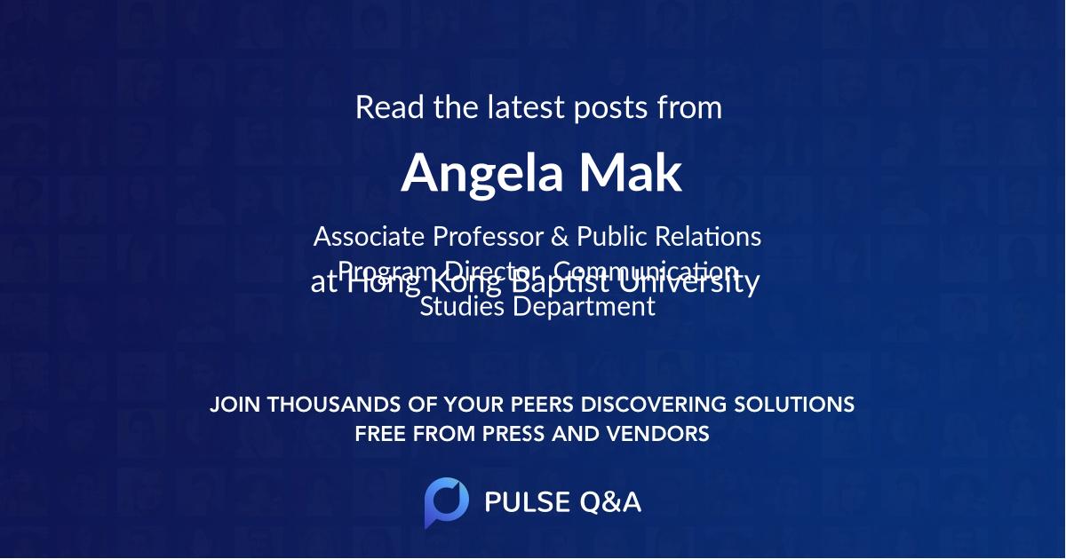 Angela Mak