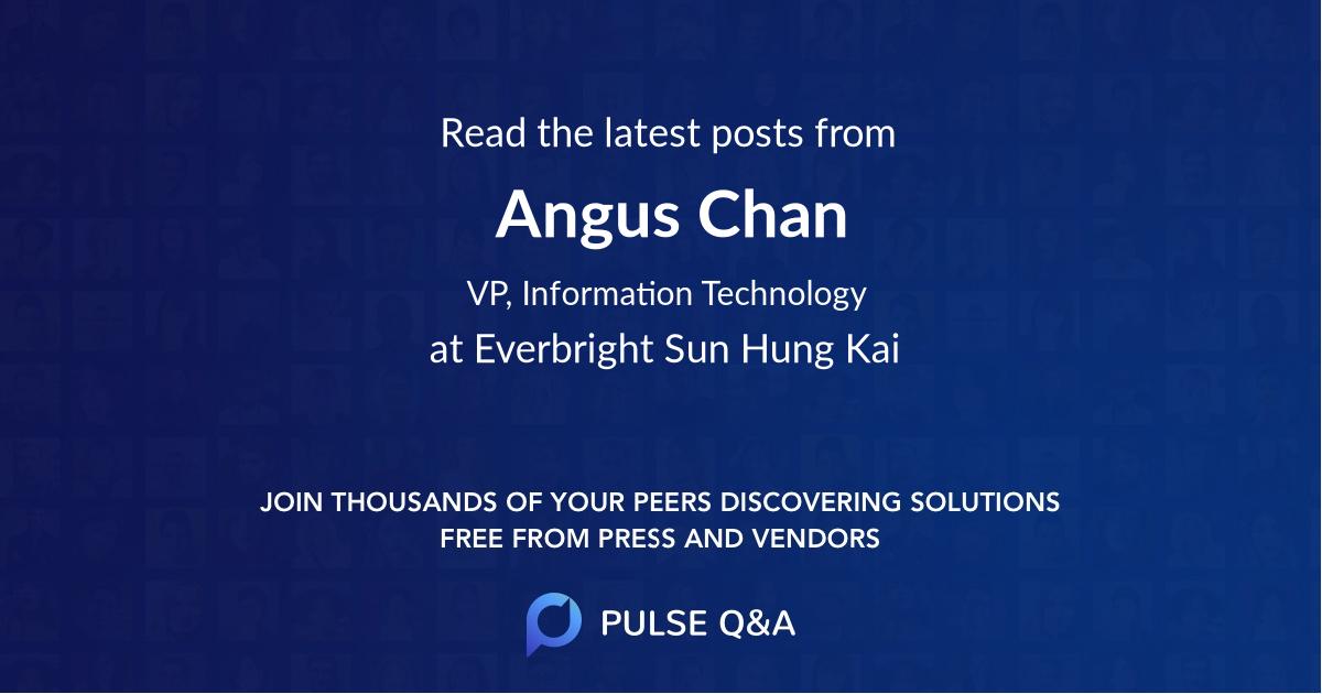 Angus Chan