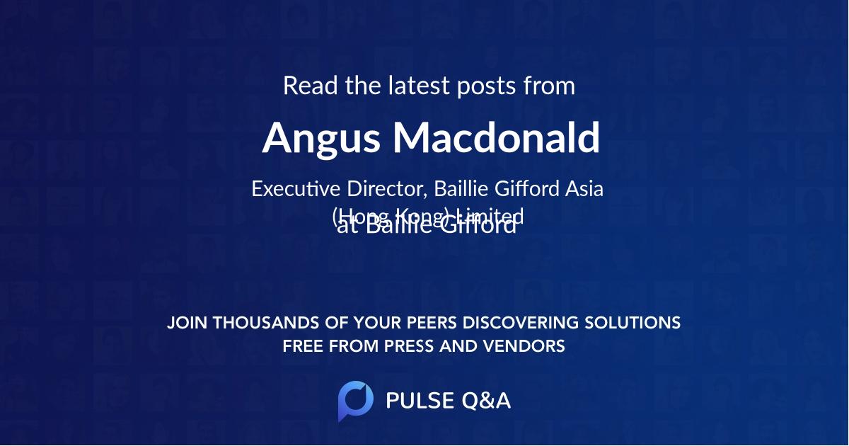 Angus Macdonald