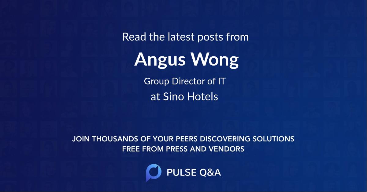 Angus Wong