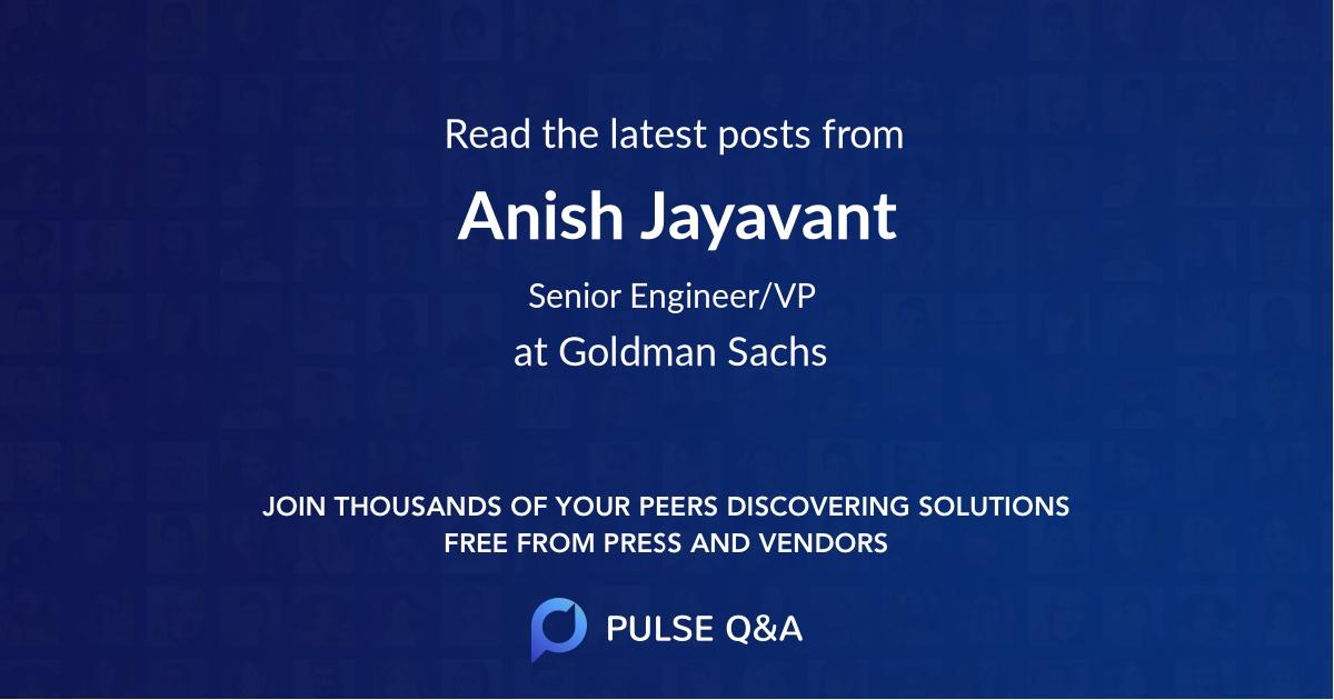 Anish Jayavant