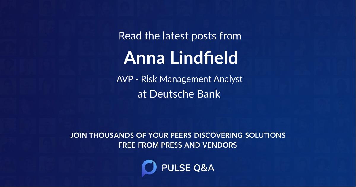 Anna Lindfield