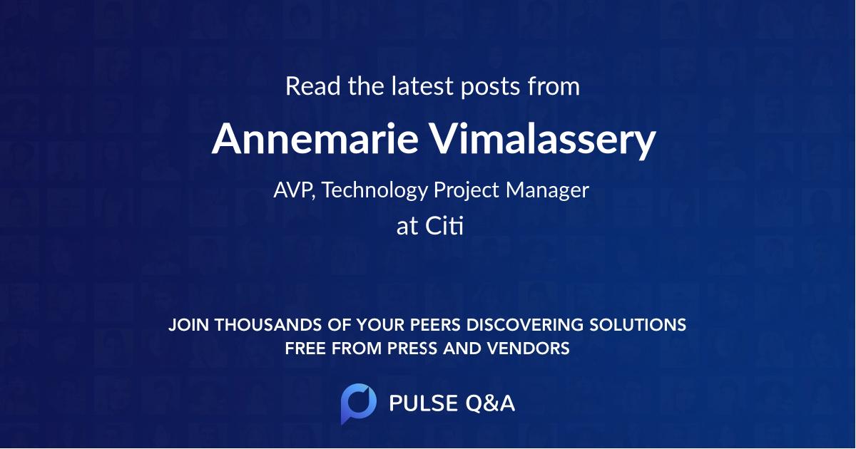 Annemarie Vimalassery