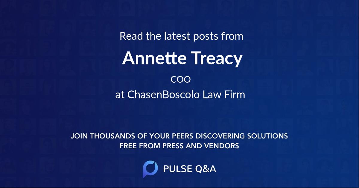 Annette Treacy