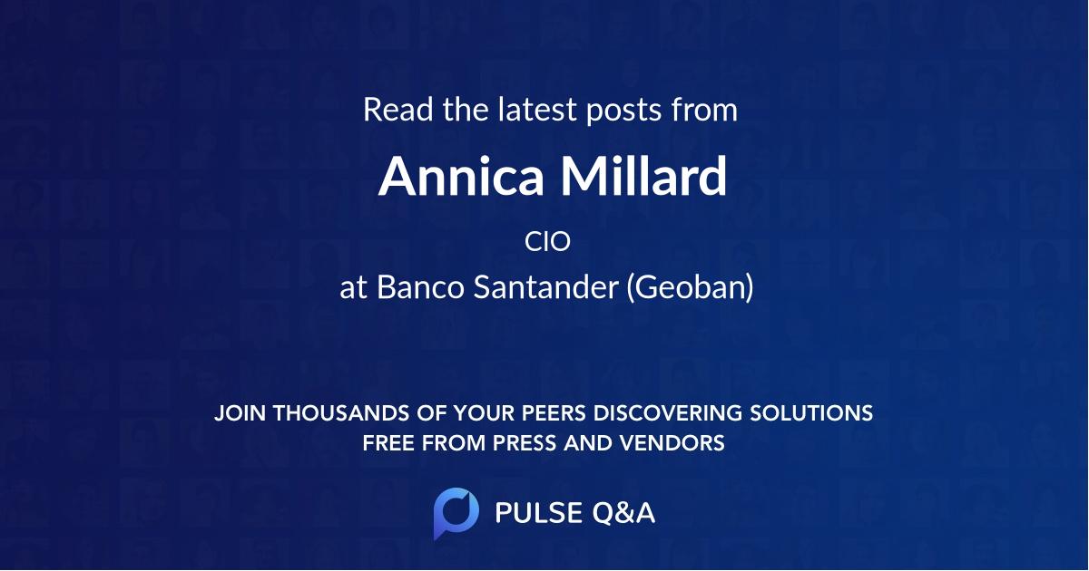 Annica Millard