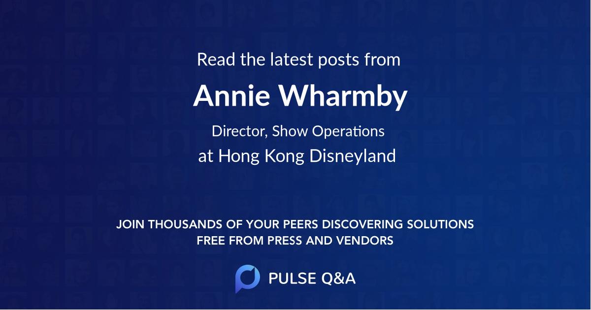 Annie Wharmby