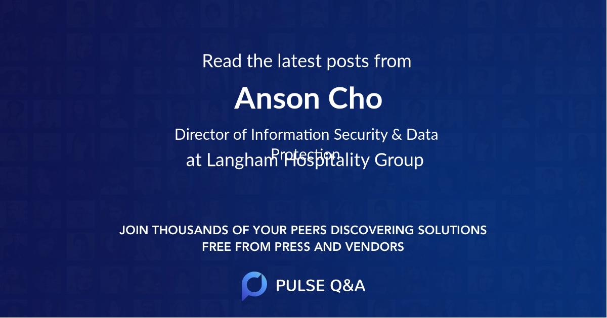 Anson Cho