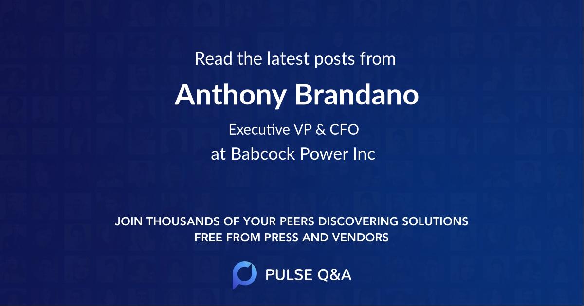 Anthony Brandano
