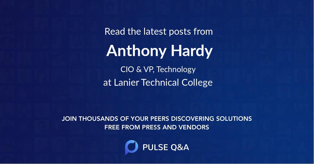 Anthony Hardy