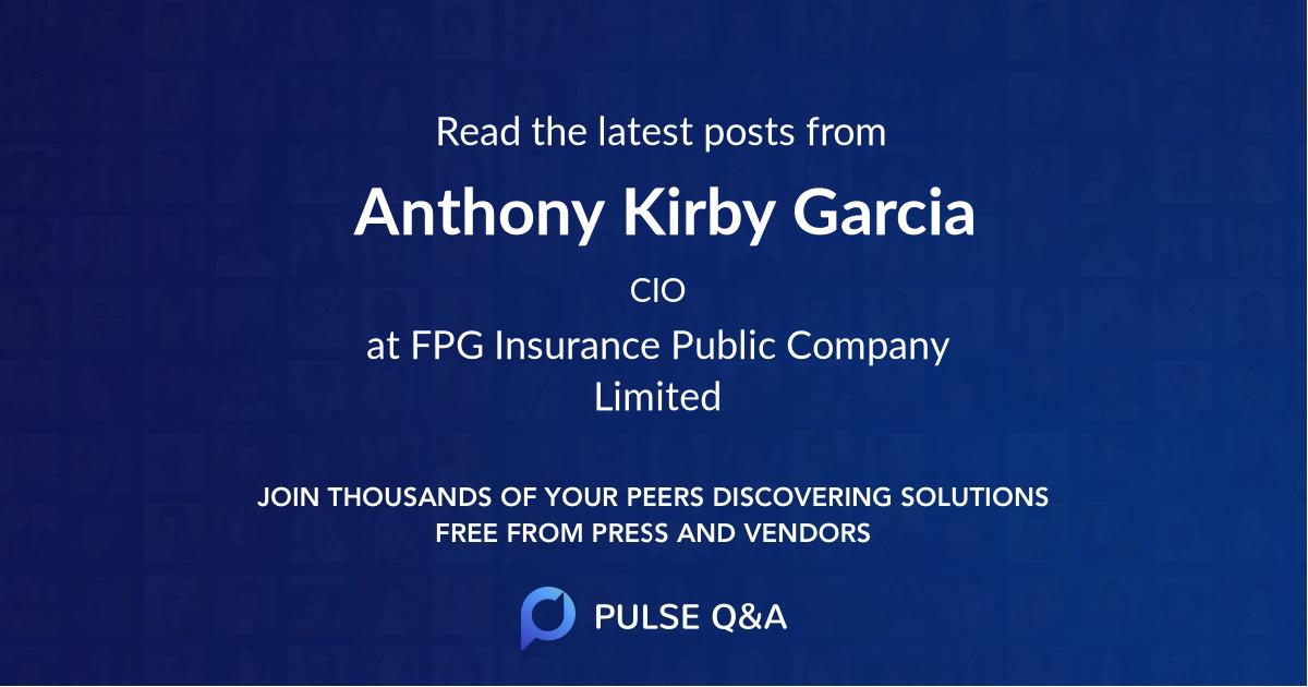 Anthony Kirby Garcia