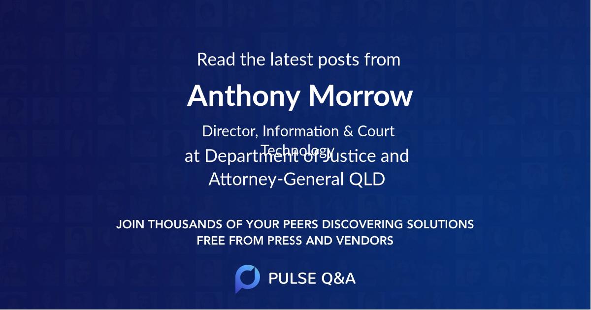 Anthony Morrow