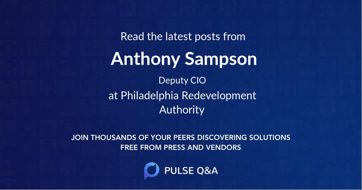 Anthony Sampson