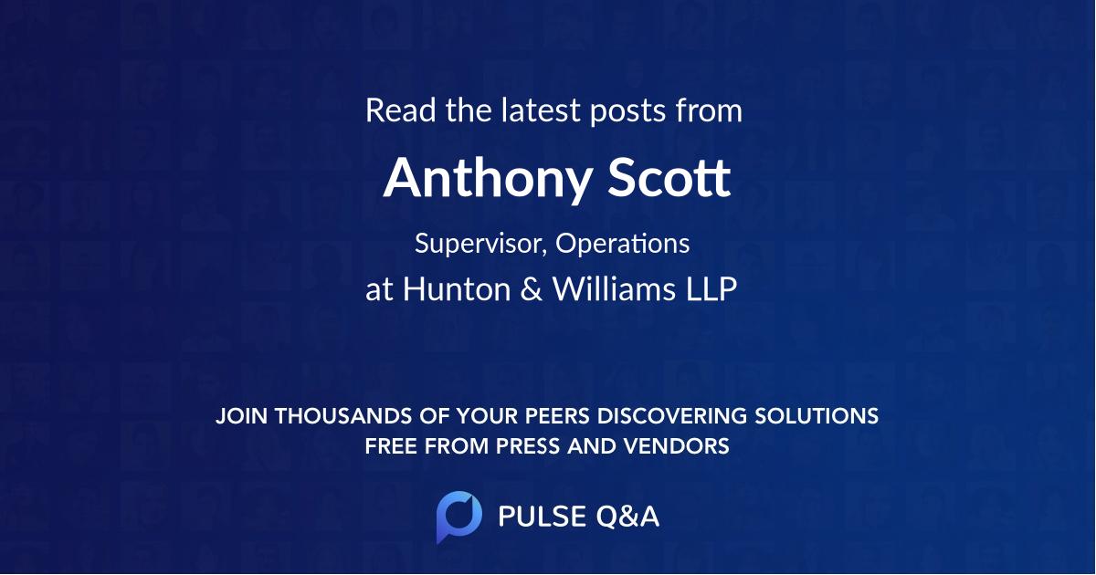 Anthony Scott