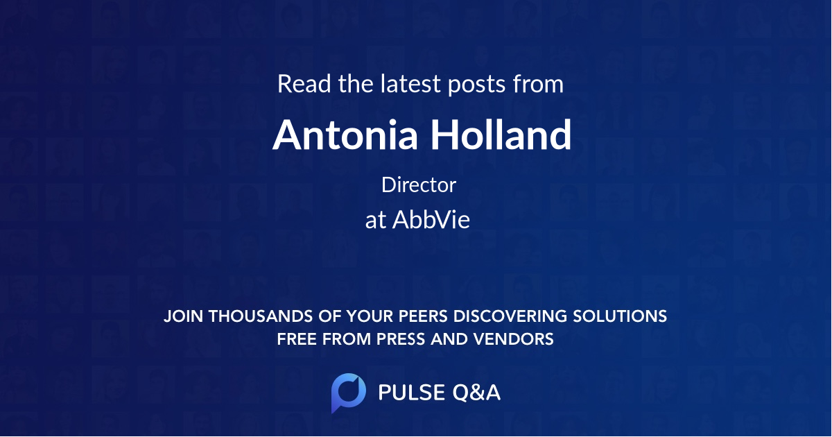 Antonia Holland