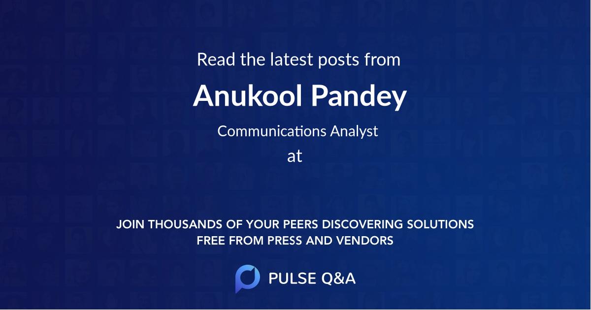 Anukool Pandey