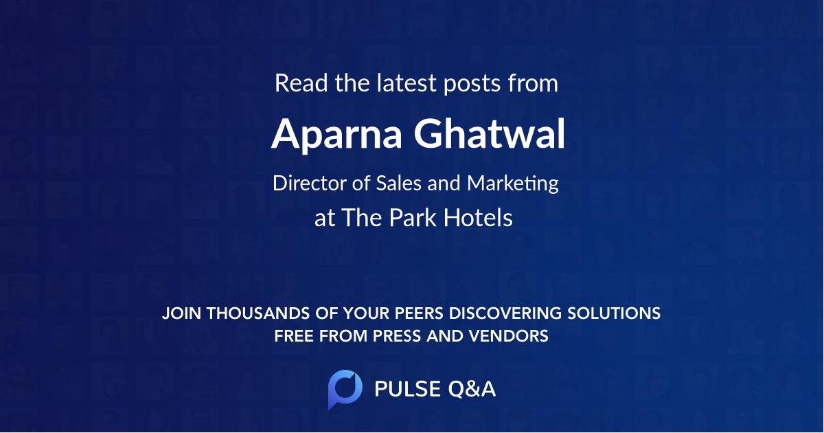 Aparna Ghatwal